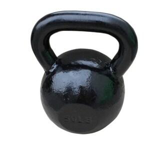 Sunny Black 50-pound Kettle Bell