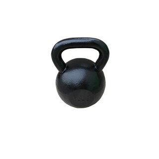 Sunny Black 60-pound Kettle Bell