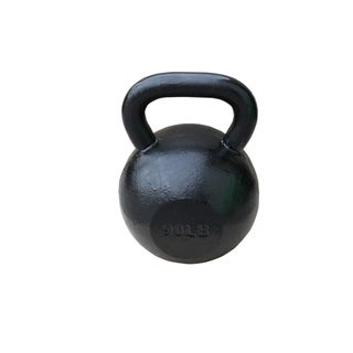 Sunny Black 90-pound Kettle Bell