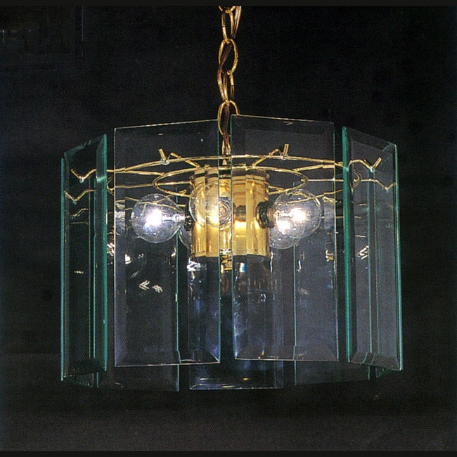 Triarch International Polished BrassTransitional 3-light Pendant