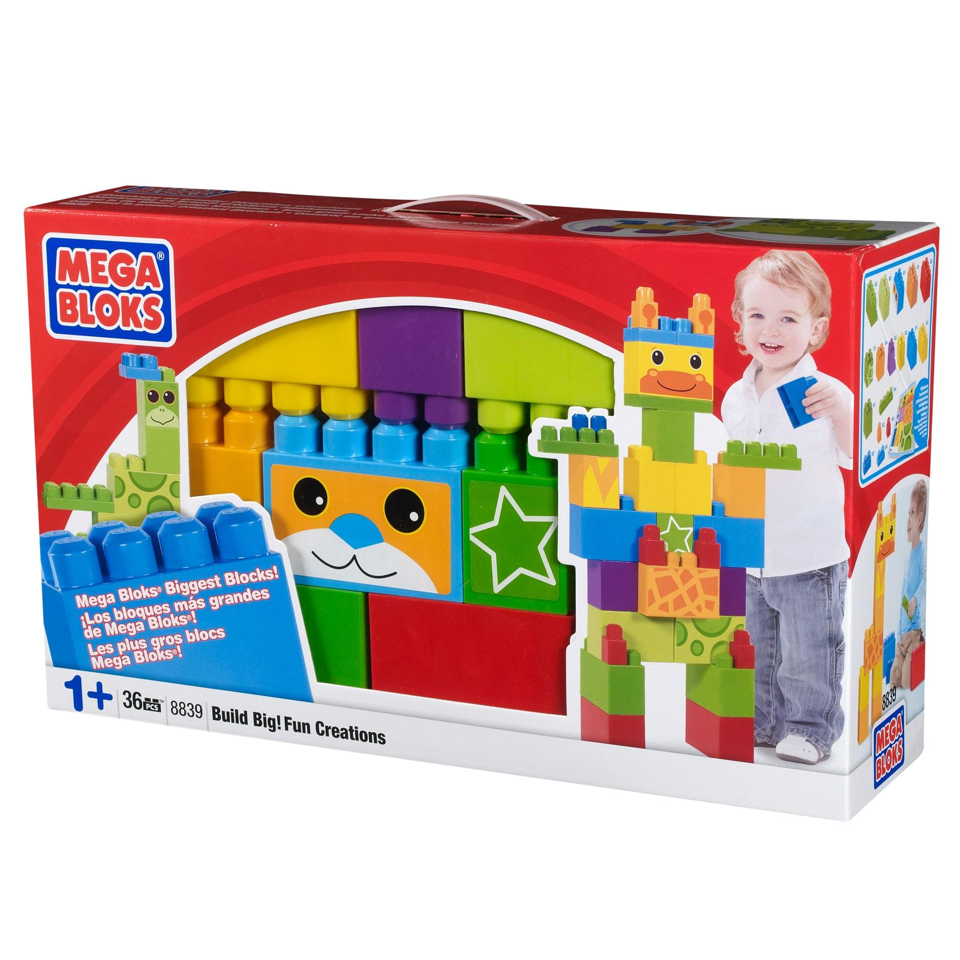 Mega Bloks Build Big Fun Creations Box