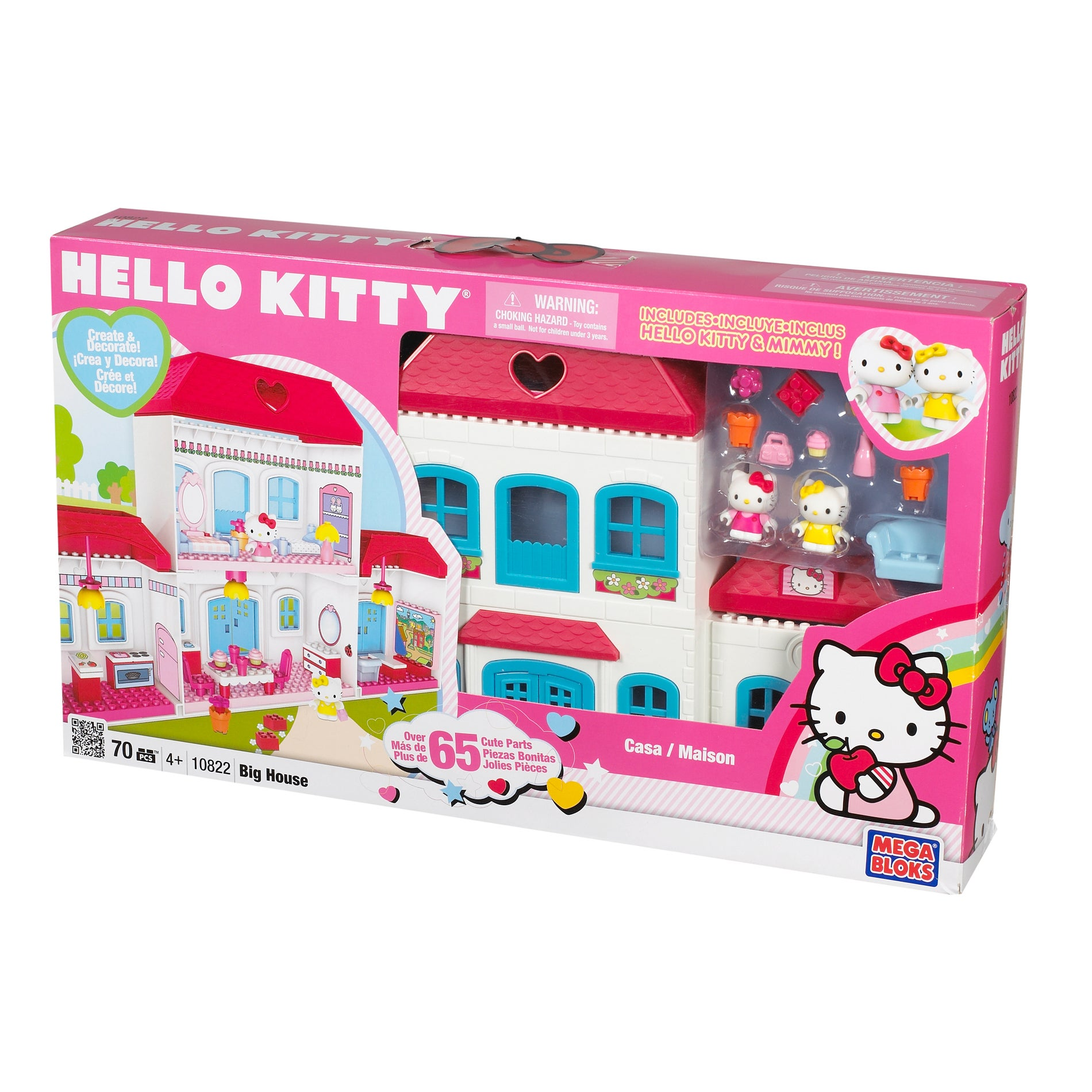 Hello Kitty Toys Set : Shop mega bloks hello kitty house play set free shipping