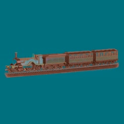 Bachmann HO Scale Thomas and Friends Emily Passenger Train Set - Thumbnail 0