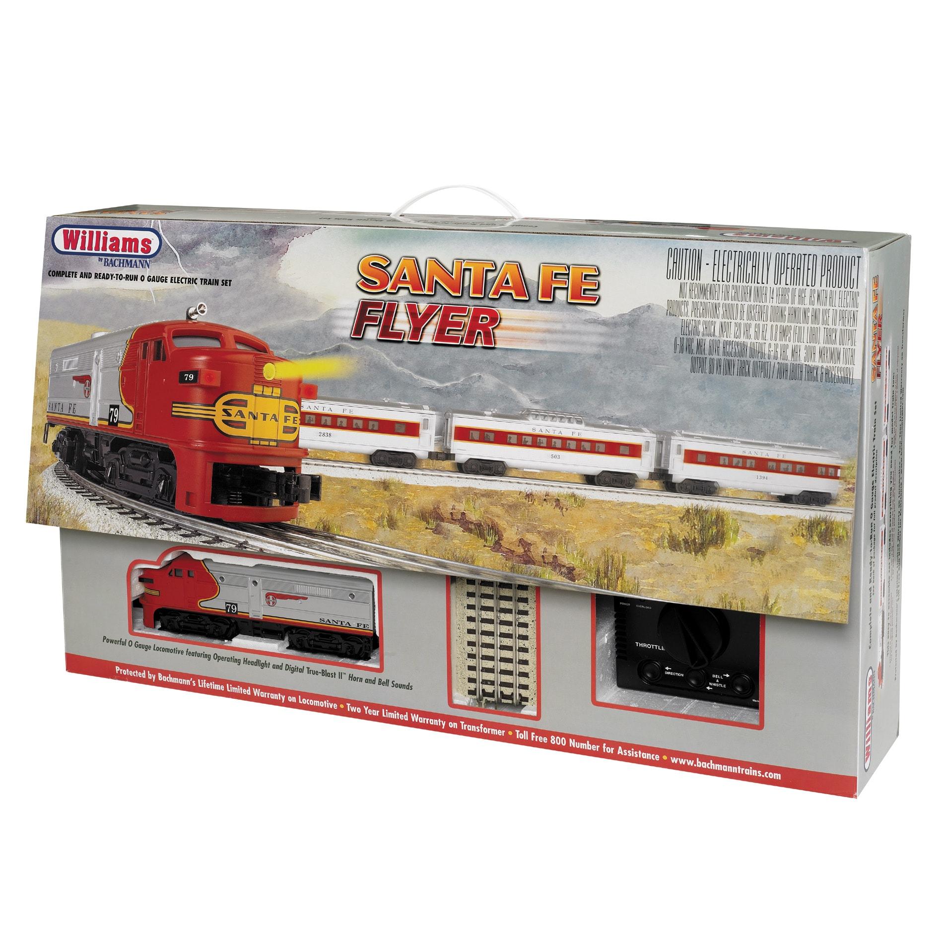 Bachmann O Scale Santa Fe Flyer Train Set