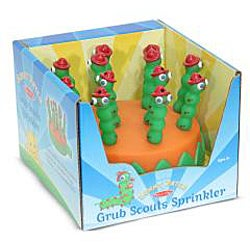 Melissa & Doug Grub Scouts Sprinkler Water Toy