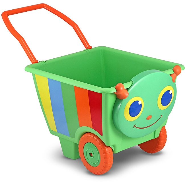 Shop Melissa Amp Doug Happy Giddy Cart Toy Free Shipping