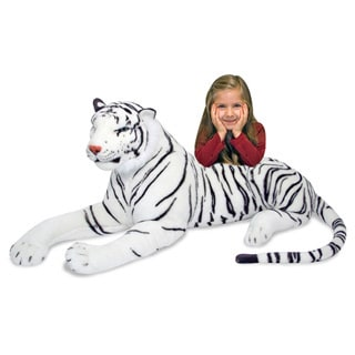 Melissa & Doug Plush White Tiger