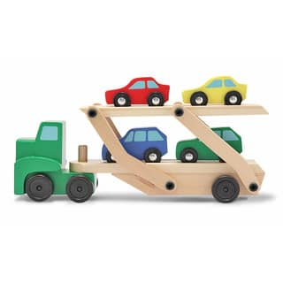 Melissa & Doug Car Carrier Toy Truck|https://ak1.ostkcdn.com/images/products/6290627/P13922867.jpg?impolicy=medium