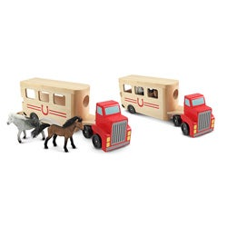 Melissa & Doug Horse Carrier Toy