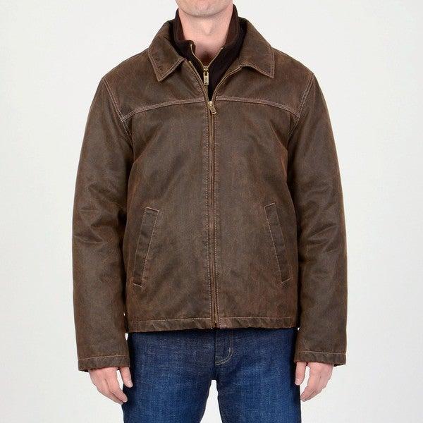 R & O Men's 3-in-1 Interchange Jacket with Removeable Inner Fleece Shell