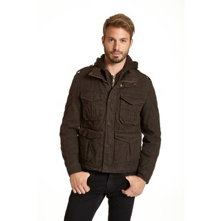 Excelled Men's Cotton Ottoman Hipster Jacket