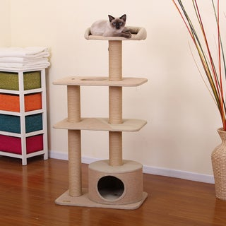 Pet Pals Go Green Four Level Cat House