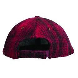 Woolrich Men's 'Heritage' Red/Black Plaid Wool-blend Cap