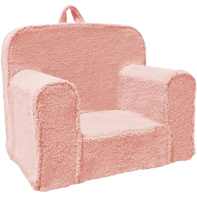 Magical Harmony Kids Pink Sherpa Everywhere Foam Chair