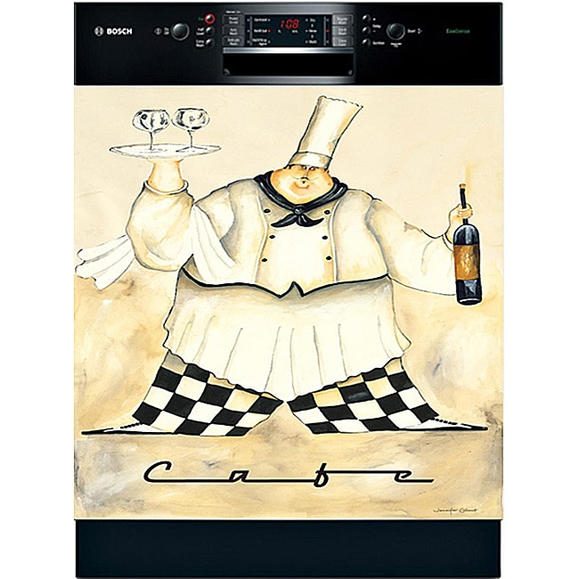 Appliance Art 'Cafe Chef' Dishwasher Cover