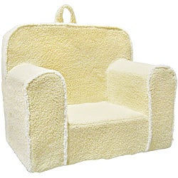 Super Magical Harmony Kids Ivory Sherpa Everywhere Foam Chair Overstock Com Shopping The Best Deals On Kids Chairs Pabps2019 Chair Design Images Pabps2019Com