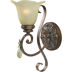 World Imports Catania Collection Single Light Wall Sconce