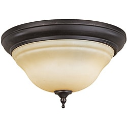 World Imports Montpelier 2-light Flush Mount Ceiling Light