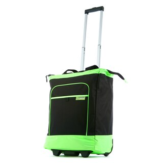Olympia Multi-Function 'Electric' 20-inch Rolling Shopper Tote (Option: Green)
