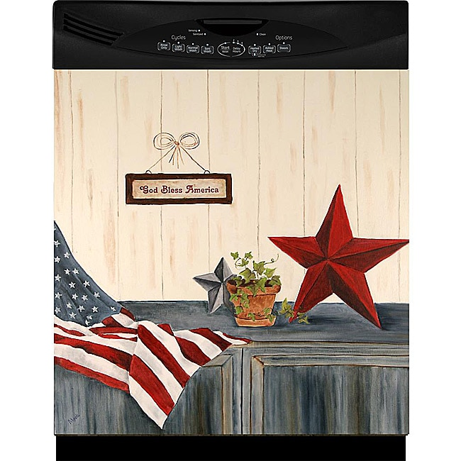 Appliance Art 'Stars and Stripes' Dishwasher Cover