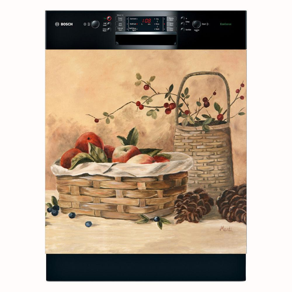 Appliance Art 'Apples and Berries' Dishwasher Cover - Thumbnail 0
