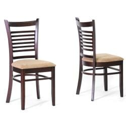 Cathy Brown Wood Modern 5-piece Dining Set - Thumbnail 1