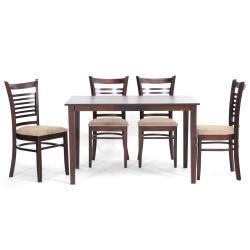Cathy Brown Wood Modern 5-piece Dining Set - Thumbnail 2