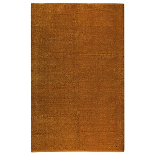 M.A.Trading Hand-woven Cherry Orange Rug (8' x 10')