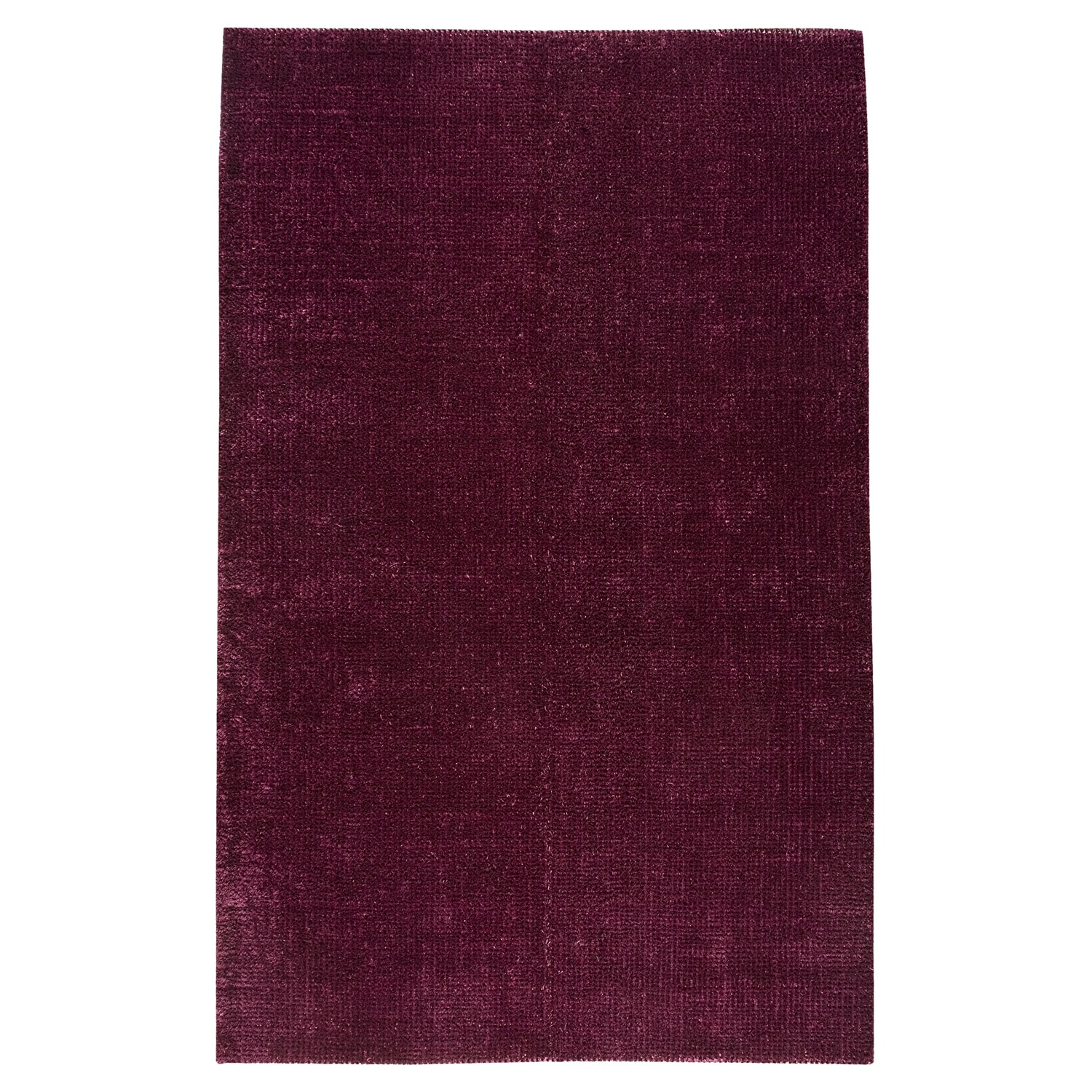 M.A.Trading Hand-woven Cherry Purple Rug (8' x 10')