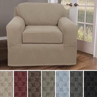 Maytex Stretch Pixel Chair 2 Piece Furniture / Slipcover (4 options available)