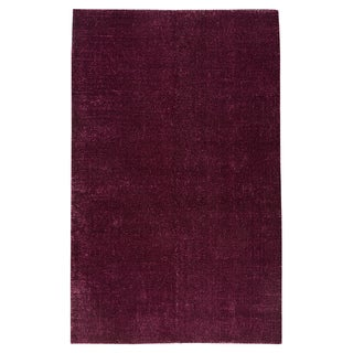 M.A.Trading Hand-woven Cherry Purple Rug (5' x 8')