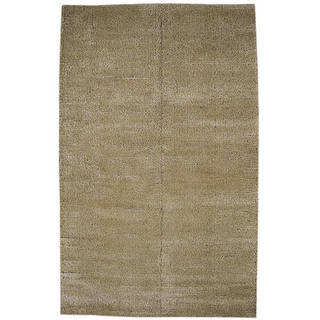 Link to Handmade Cherry Beige Rug (India) - 5' x 8' Similar Items in Transitional Rugs