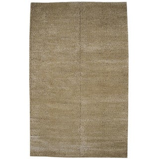M.A.Trading Hand-woven Cherry Beige Rug (5' x 8')