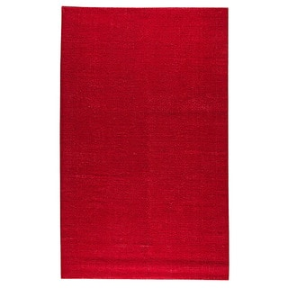 M.A.Trading Hand-woven Cherry Pink Area Rug (5' x 8') (India)