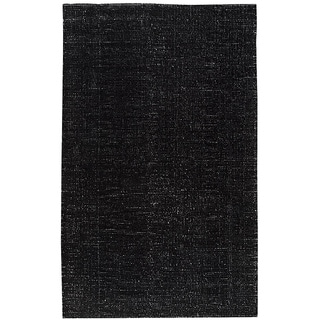 M.A.Trading Hand-woven Cherry Black Rug (5' x 8')