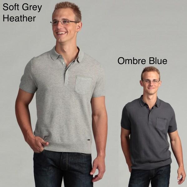 Calvin Klein Men's Short Sleeve Polo Shirt