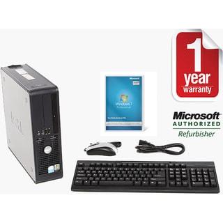 Dell Optiplex 755 Intel Core 2 Duo 3.0GHz CPU 4GB RAM 750GB HDD Windows 10 Pro Small Form Factor Com