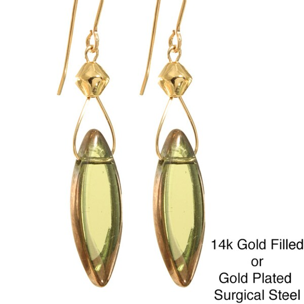 'Seda' Glass Earrings