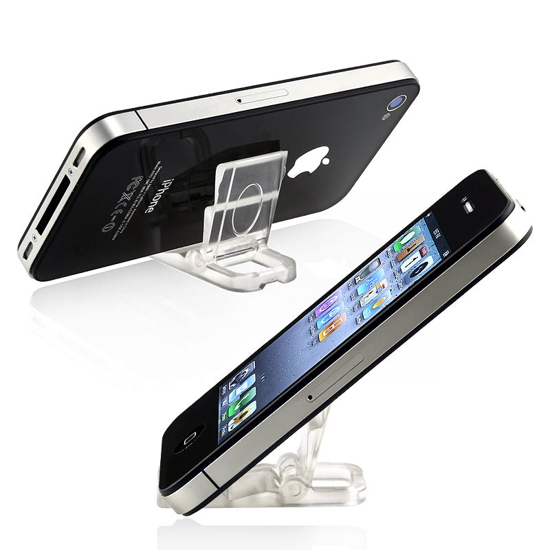 INSTEN Mini Stand Holder for Apple iPhone 3G/ 3GS/ 4/ 4S/5/ 5S/ 6