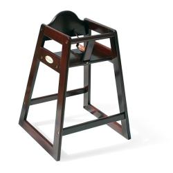 Classic Hardwood High Chair in Antique Cherry