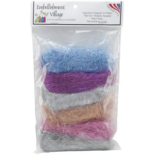 Embellishment Village 'Angelina Fine China' Straight Cut Fibers (Pack of 6)