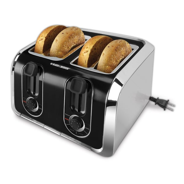 Shop Black Amp Decker 4 Slice Toaster Free Shipping Today