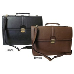 Amerileather Quincy Executive Leatherette Briefcase