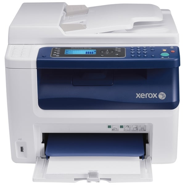Xerox WorkCentre 6015NI LED Multifunction Printer - Color - Plain Pap