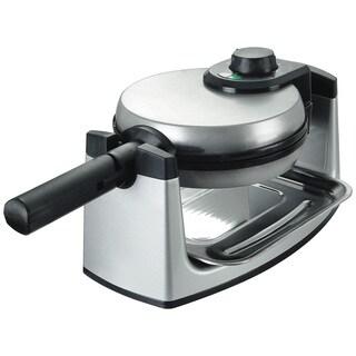 Kalorik Stainless Steel/ Black Waffle Maker