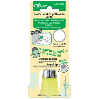 Clover Protect and Grip Large Thimble