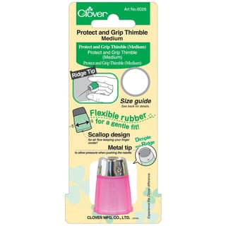 Clover Protect and Grip Medium Thimble|https://ak1.ostkcdn.com/images/products/6293467/P13925186.jpg?impolicy=medium