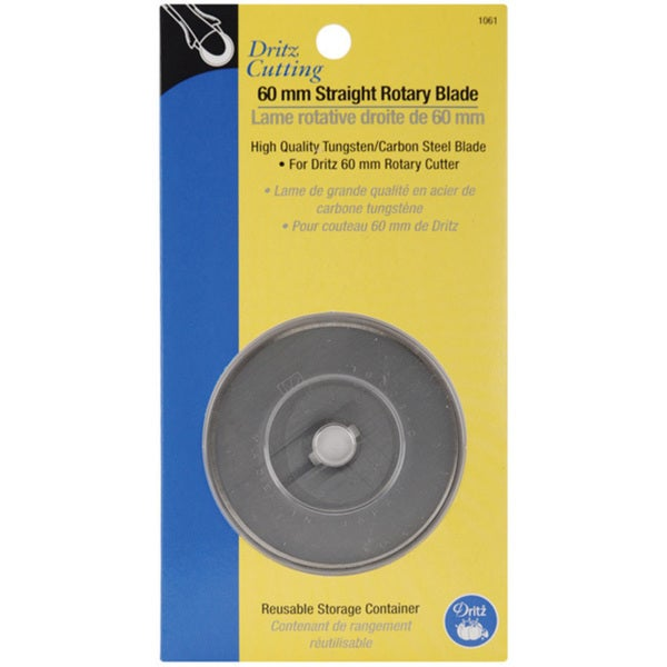 Dritz 60-millimeter Tungsten-carbon Steel Rotary Blade Refill