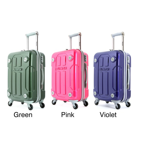 Olympia Georgia 20-inch Hardside Carry-on Spinner Upright