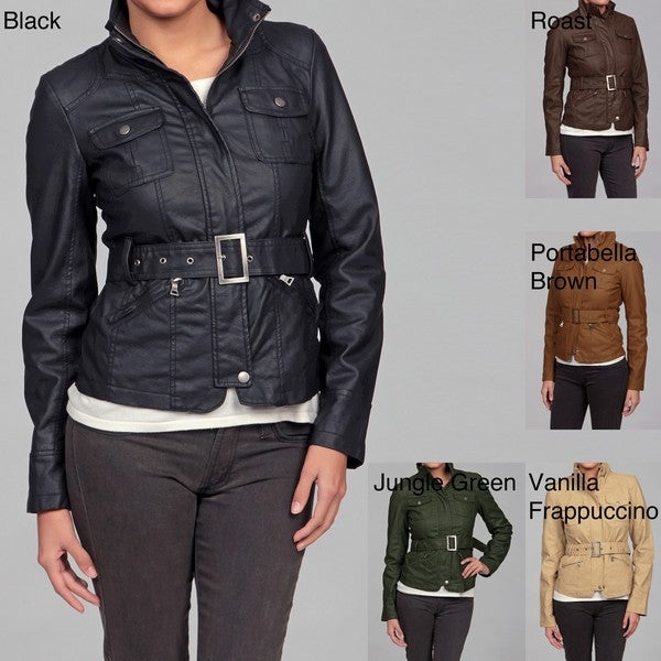 Last Kiss Women's Faux-leather Jacket